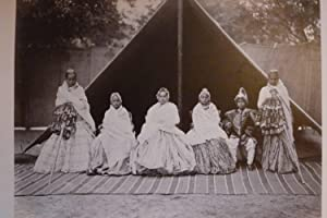 PHOTO ALBUM FEATURING FORTY-ONE ALBUMEN PHOTOGRAPHS BY SAMUEL BOURNE OF NORTHERN INDIA, KASHMIR, ...