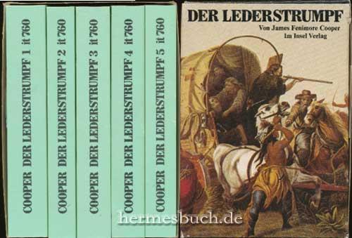 Der Lederstrumpf., Der Wildtöter. Der letzte Mohikaner. Der Pfadfinder. Die Ansiedler. Die Pr&...