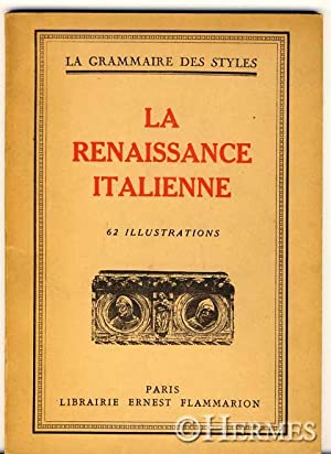La renaissance italienne.,: Martin, Henry: