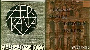 Konvolut mit zwei Ausstellungskatalogen über Gerhard Marcks Werk., Afrikana. / Lü...