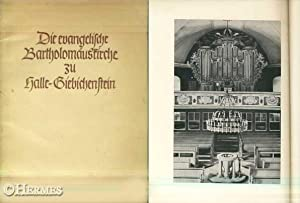 Die evangelische Bartholomäuskirche zu Halle-Giebichenstein.,