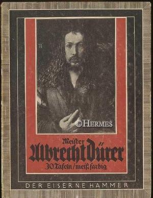 Meister Albrecht Dürer., Gemälde und Handzeichnungen. Mit: Dürer, Albrecht: