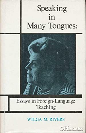essay speaking tongues The lord's sup- per 3) d walker, the gift of tongue~ anr:f o'he'r essays, 1906, 7  filled with the holy spirit and began to speak in other tongues (heterais.