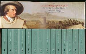Werke in vierzehn [14] Bänden., Hamburger Ausgabe.: Goethe, Johann Wolfgang von: