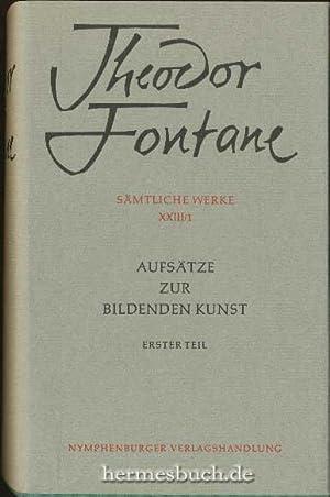 Aufsätze zur bildenden Kunst., Erster Teil.: Bachmann, Rainer: