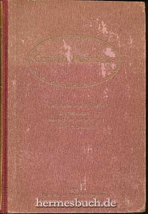 Carl Th. Michaëlis., Persönliche und amtliche Erinnerungen. Band I (1): Biographie.: ...