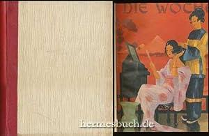 Die Woche., Konvolut aus den zusammengebundenen Heften 1 - 12 des Jahres 1925: August Scherl Verlag...