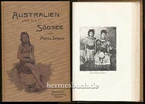 Australien und die Südsee an der Jahrhundertwende., Kolonialstudien.: Schanz, Moritz: