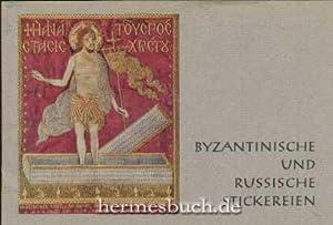 Byzantinische und russische kirchliche Stickereien.,: Rothemund, Boris: