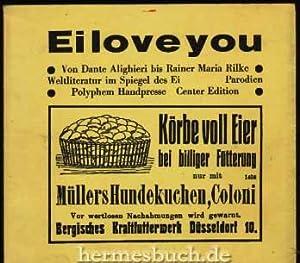 Parodien aus der der Eirologie des Eistachiuis Eiermann.,: Schreckenbach, Wolfgang .: