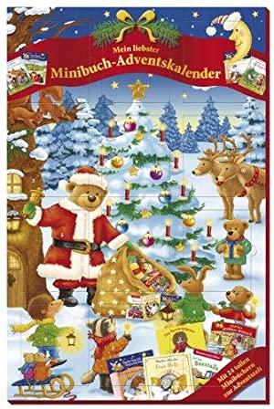 Minibuch-Adventskalender 2012., 24 tolle Minibücher zur Adventszeit.