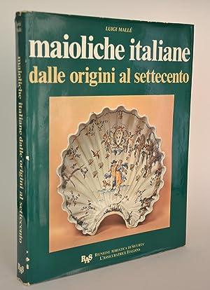 Maioliche Italiane Dalle Origini al Settecento: Mallé, Luigi