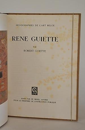 Monographies De L'art Belge - René Guiette: Guiette, Robert