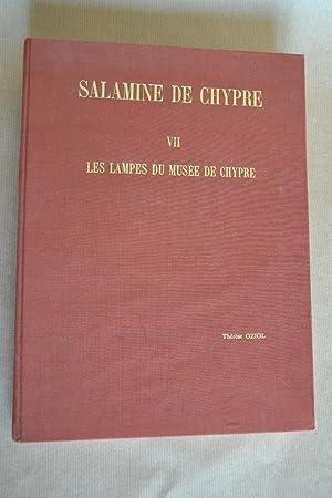 Salamine de Chypre, VII, les lampes du: Oziol, Thérèse