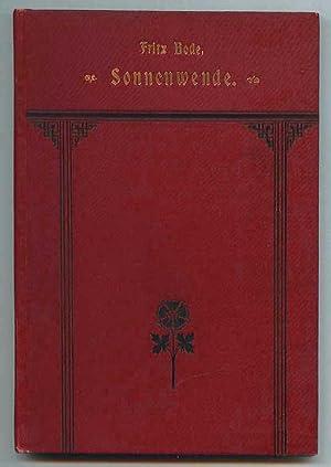 Sonnenwende. Ein Märchenspiel in drei Bildern: Bode, Fritz
