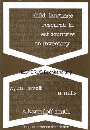 Child Language Research in ESF Countries