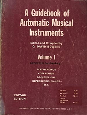 A Guidebook of Automatic Musical Instruments - Vol 1