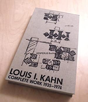 Louis I. Kahn: Ronner, Heinz/ Jhaveri,