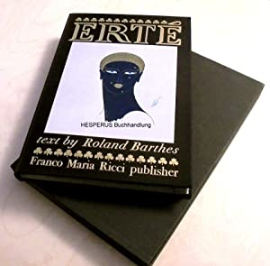 Erté (Romain de Tirtoff): Erté/ Barthes, Roland