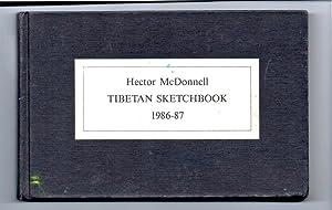 TIBETAN SKETCHBOOK 1986-7, Edition Gschwendtner Blatter: Hector McDonnell