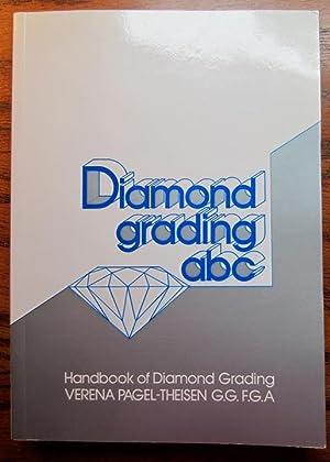 Diamond Grading ABC: Handbook of Diamond Grading: Pagel-Theisen, Verena