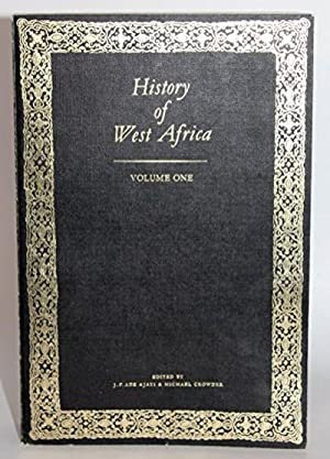 History of West Africa Volume One: J.F. Ade Ajayi