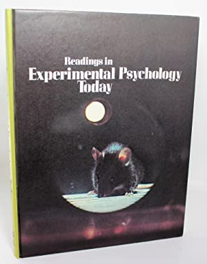 Readings in experimental psychology today: Adler, Norman T.,