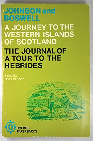 Johnson's Journey to the Western Islands of: Johnson, Samuel and
