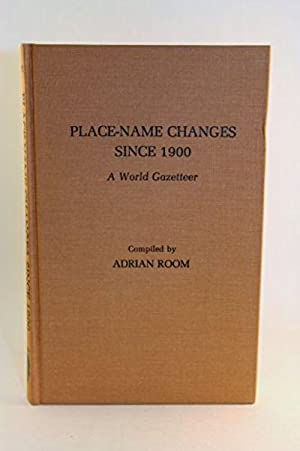 Place-Name Changes Since 1900