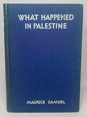 What Happened in Palestine