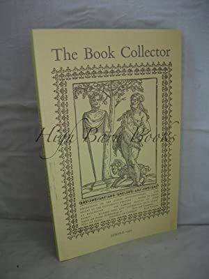 The Book Collector Volume 44 No 1 Spring 1995