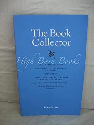 The Book Collector Volume 47 No 2 Summer 1998