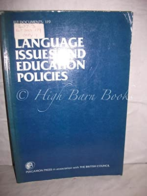 Language Issues and Education Policies (ELT Documents: Allen, Patrick and