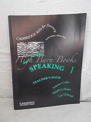 Speaking 1 Teacher's Book: Collie, Joanne: Stephen