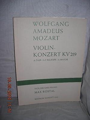 Violin-Konzert KV219 A-Dur/La Majeur/A Major [Violin Concerto: Mozart, Wolfgang Amadeus