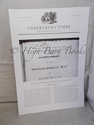 Cherryburn Times: The Journal of the Bewick Society Spring 2005 Volume 4 Number 8: The Cherryburn...