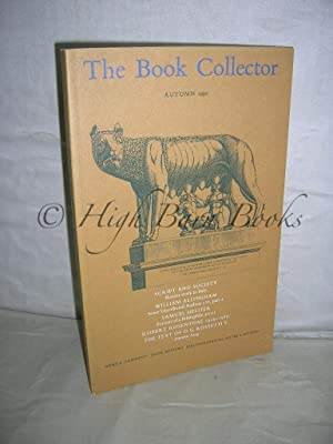 The Book Collector Volume 39 No 3 Autumn 1990 (Vol. 39 Number 3)