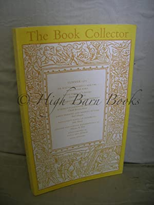 The Book Collector Volume 30 No 2 Summer 1981 (Vol. 30 Number 2)