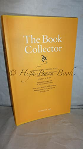 The Book Collector Volume 46 No 2 Summer 1997 (Vol. 46 Number 2)