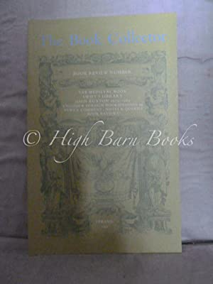 The Book Collector Volume 40 No 1 Spring 1991 (Vol. 40 Number 1)