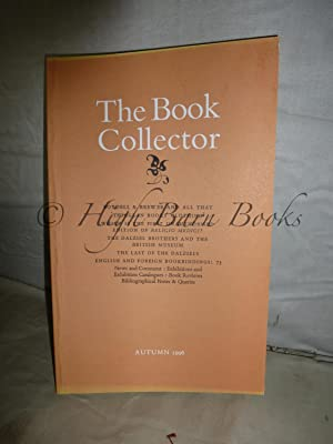 The Book Collector Volume 45 No 3 Autumn 1996 (Vol. 45 Number 3)