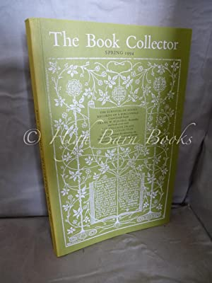 The Book Collector Volume 43 No 1 Spring 1994 (Vol. 43 Number 1)