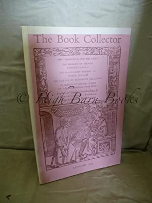 The Book Collector Volume 43 No 3 Autumn 1994 (Vol. 43 Number 3)
