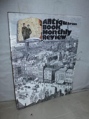 Antiquarian Book Monthly Review (ABMR) Issue No 9 for October 1974