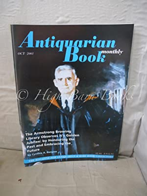 Antiquarian Book Monthly Volume XXVIII Number 9 Issue No 322 February 1999