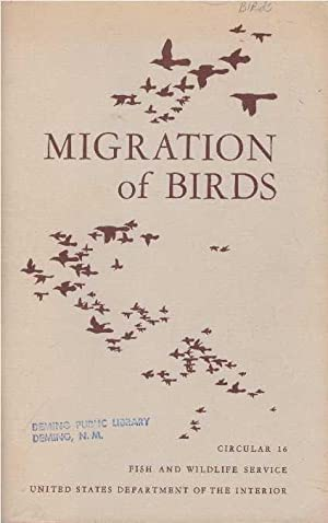 MIGRATION OF BIRDS: Lincoln, Frederick C.
