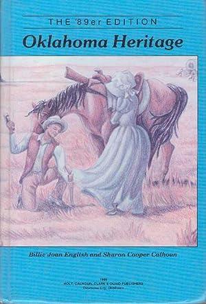OKLAHOMA HERITAGE; The '89er Edition: English, Billie Joan