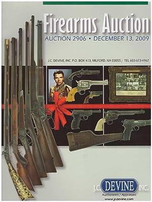 FIREARMS AUCTION CATALOGS; 2 Catalogs - December: Devine, J.C., Inc