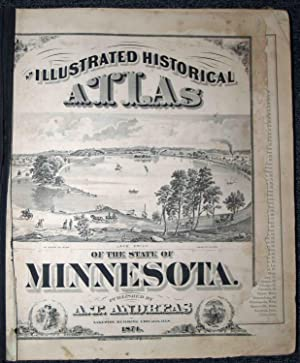 Illustrated Historical Atlas of the State of: Andreas, A. T.