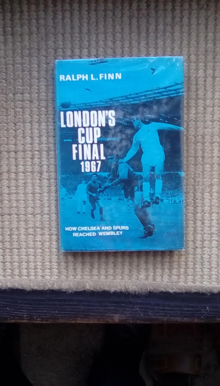 LONDON'S CUP FINAL 1967. FINN, Ralph, L.